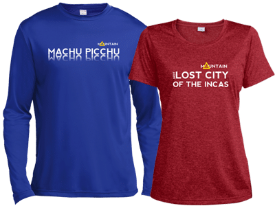 Machu Picchu x 2 long & short sleeve shirts -Mountain IQ