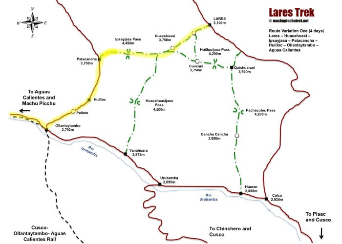 lares-trek-map-route-1