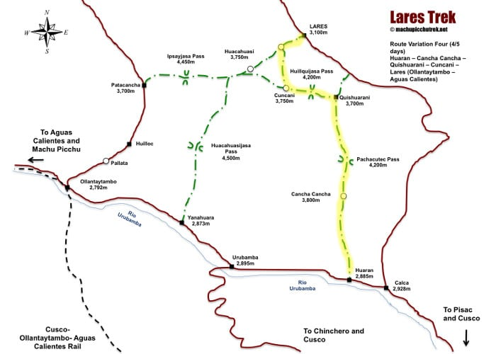 lares-trek-map-route-4