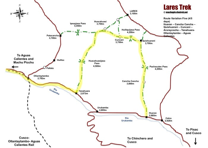 lares-trek-map-route-5