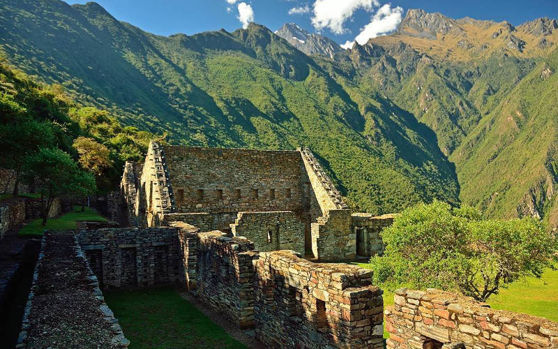 choquequirao trek trail