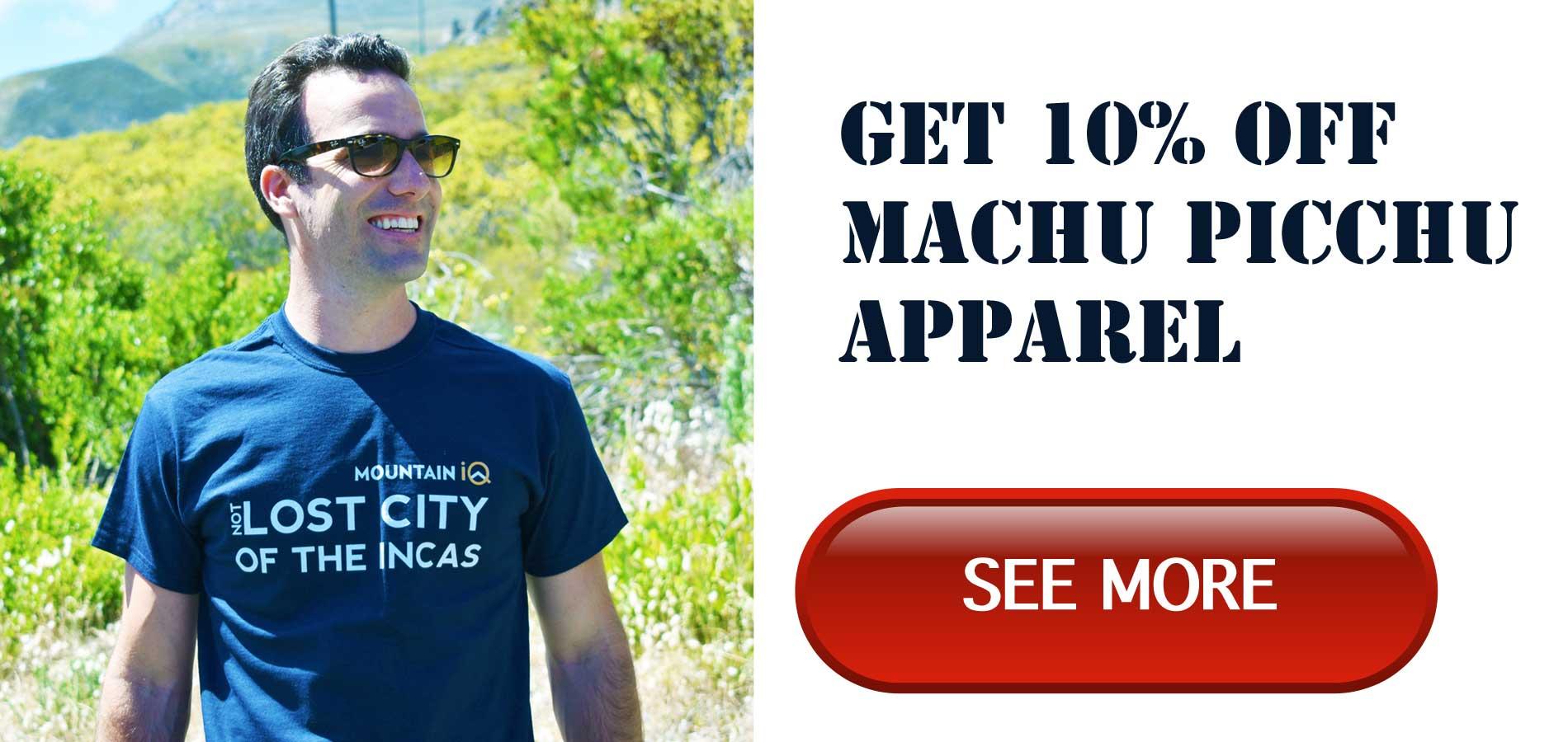 machu picchu gear